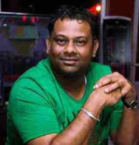 The harassed reporter, Bisham Mohamed.