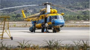 The area being searched by air and sea covers hundreds of kilometres