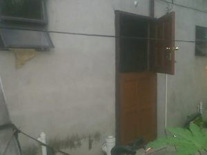The window through which the gunmen gained entry. [iNews' Photo]