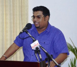 Minister of Housing and Water, Irfaan Ali.
