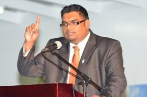Tourism Minister (ag), Irfaan Ali.