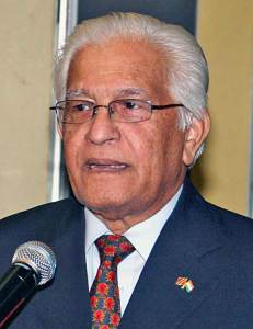 Former PM of T&T, Basdeo Panday.