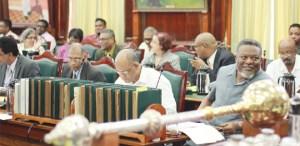 Some government Parliamentarians.