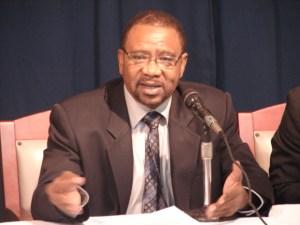 Former Leader of the PNC/R, Robert Corbin.