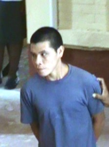 The accused: 18 - year - old Orin Simon. [iNews' Photo]