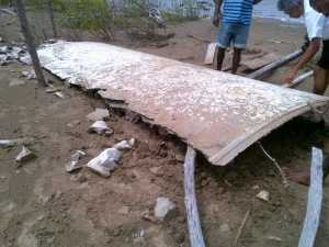 The initial conclusion by the GCAA is that the object does not belong to an airplane. [iNews' Photo]