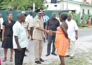 'Impact Albouystown' Project launched by Police Force. [GINA Photo]