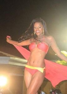 Miss Guyana Alicia Bess.