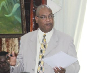 Minister within the Ministry of Finance, Juan Edghill.