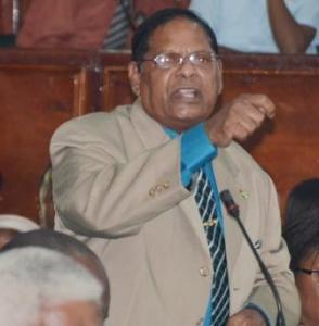 AFC MP, Moses Nagamootoo