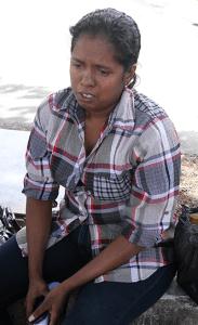 Guyanese national Vidya Bachu recalls how her husband died outside the San Fernando General Hospital's mortuary