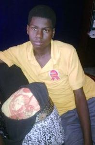 Shot teenager, Alex Griffith. [iNews' Photo]