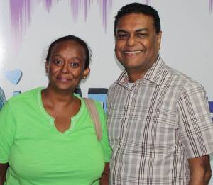 Manzoor Nadir (R) Beverly Alert (L)