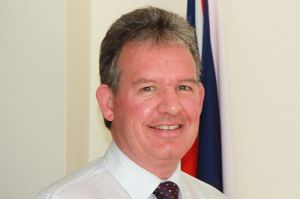 British High Commissioner to Guyana, Andrew Ayre