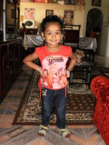 Dead: Three - year - old, Saleena Shakiel.