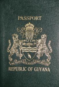 Guyana_Passport