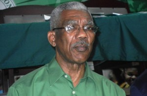 Leader of the PNCR, David Granger. [iNews' Photo]