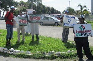 Some of the protesters. [iNews' Photo]