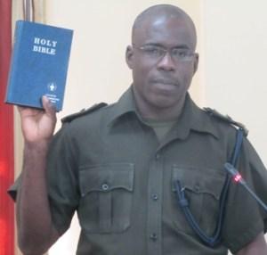 Lieutenant Colonel Patrick West. [iNews' Photo]
