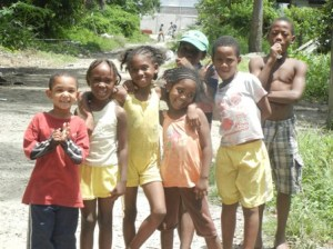 Some of children in the community. [iNews' Photo]