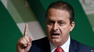 Brazil's Presidential candidate Eduardo Campos