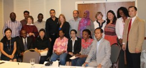 Group Photo of IVLP Participants and DOS officials in Seattle, WA