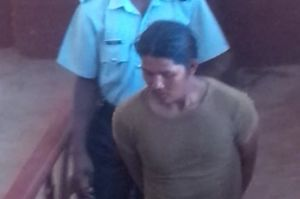 Murder accused: Desmond James. [iNews' Photo]