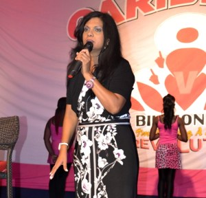 Regional Coordinator of 'One Billion Rising' Movement and Programme Director of the Caribbean American Domestic Violence Awareness (CADVA), Dianne Madray,.