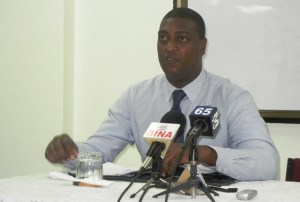 Senior Policy/Research Officer, from the Australian High Commission, Clint Fernandes. [iNews' Photo]