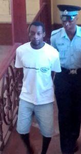 Murder accused: Collin Blair. [iNews' Photo]
