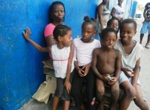 Sharon Hinds and her children. [iNews' Photo]