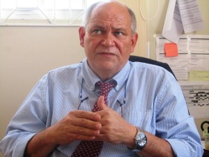 Head of the USAID Leadership and Democracy Project in Guyana, Glenn Bradbury. [iNews' Photo]
