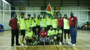 Male volleyball team