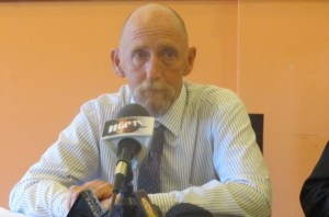 President of Panther Recycling Corporation, Mike Mosgrove. [iNews' Photo]
