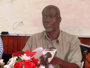 Vice President of the GTUC, Norris Witter. [iNews' Photo]