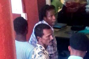 Three of the accused men. [iNews' Photo]