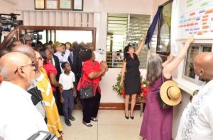 The official opening of the Dental Clinic. [Sandra Prince Photo]