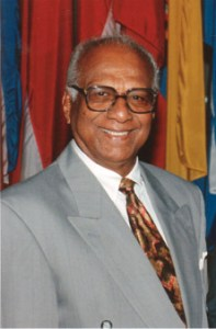 Former President of Guyana. Dr Cheddi Jagan