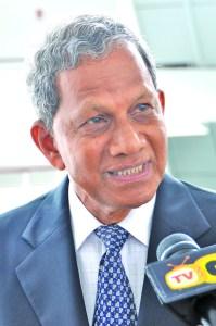 Former Clerk of the National Assembly, Frank Narain