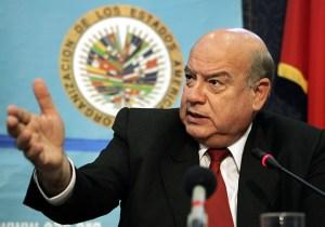 Secretary General of the Organization of American States (OAS), Jose Miguel Insulza