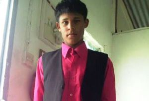 Dead: 14 - year – old Dhaniram Ramgopaul, a.k.a 'Ryan'.