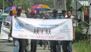 Corruption March 1