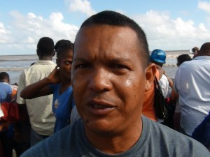 Country Co-coordinator of Marine Turtle Projects in Guyana, Romeo Defreitas