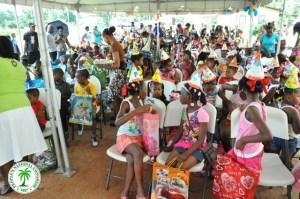 Children Christmas Party in Linden, Region No. 10