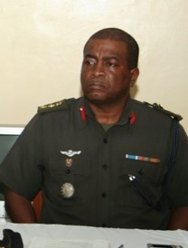 Chief of Staff of the GDF, Brigadier Mark Phillips