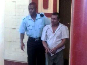Murder accused: Rajesh Roopnarine. [iNews' Photo]