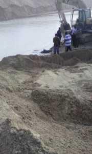 The scene where his body was found