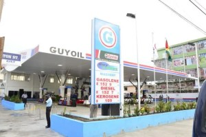 The new Guyoil Gas Station.