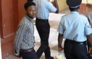 Richard Daniels before his arraignment. [iNews' Photo]