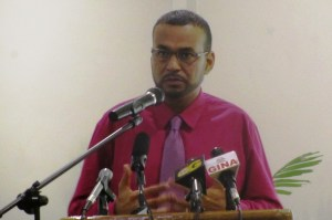 Former Minister of Natural Resources and Environment, Robert Persaud. [iNews' Photo]